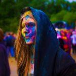 Rainbow Halloween Theme