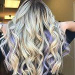 Lavender Peekaboo Highlights