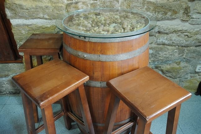 Recycled furniture from Barrel