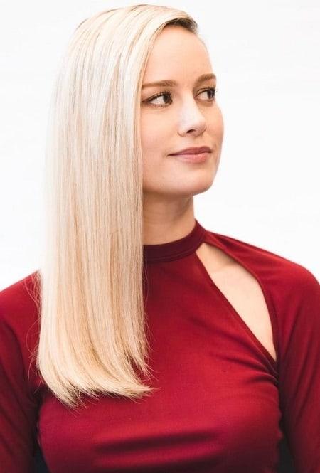 Brie Larson Famous Blonde Actress