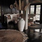 How to Design Interior According to Dark Hardwood Floors 2