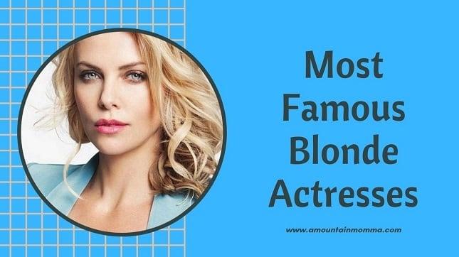 Scarlett Johansson Famous Blonde actress