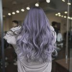 Most Popular Hair dying Trends for Women Ash Purple
