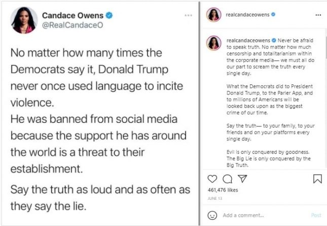 Candace Owens Net Worth And A Glance At Her Career Tweet