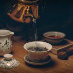 Drink coffee or green tea in the morning